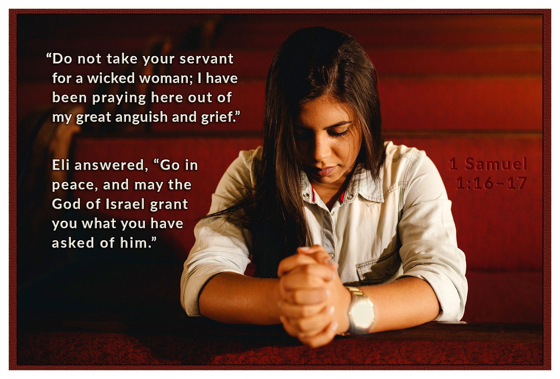 Hannah, A Woman of Prayer